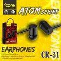 Core Atom Series Earphone