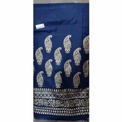 Rayon Gold Print Fabric For Kurti