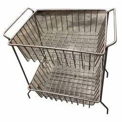 Nova Stainless Steel Fruit Basket