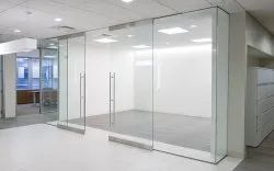 Ozone Glass Doors For Commercial Places With Fittings