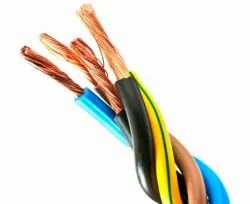 90 Mtr & 100 Mtr 2 .3 4 Core PVC Flexible Cable, For Industrial