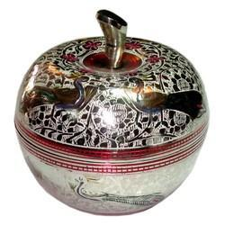 Brass Apple Bowl