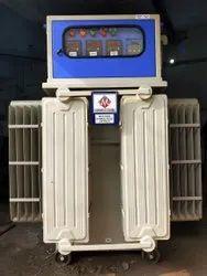 Three Phase Servo Voltage Stabilizer Roller Type,  Input Voltage: 300-460V,  Output Voltage: 400V