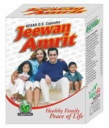 krishna health Weight Gain Capsule ( Jeewan Amrit), 60 capsule