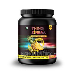 12 Months Thinq Zinga ( Pineapple ) Energy Drink, Packaging Size: 1 Kg, Packaging Type: Bottle