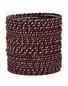 Purple Silk Thread Bangle
