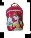 Titan Pink Belle Princess Printed Casual/school/kids Backpack (20 L) (multicolor)