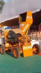 JSC005 Mild Steel Hopper Concrete Mixer