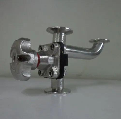 Industrial Sanitary Valves - Zero Dead Leg Sanitary Valve