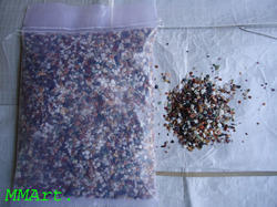 Indian Natural Agate Polished Chips for aquarium
