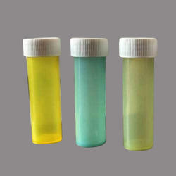 2 Dram Colorful Homeopathic Plastic Bottle