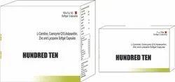 L Carnitine Coenzyme Q10 Astaxanthin Zinc & Lycopene Softgel Capsule