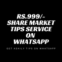 Share Market Tips Service On Whatsapp