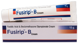 Fusidic Acid Beclomethasone Dipropionate Cream(Fusirip- B Cream)