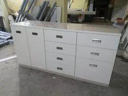 Wooden Straight Modular Kitchen Desk, Warranty: 5-10 Years