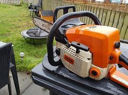 MS 460 Chainsaw With 18