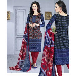 Ladies Cotton Printed Casual Wear Suit