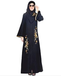 Beautiful Hand Embroidered Abaya