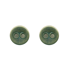 Zinc Metal Button, Size: 10 mm