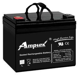 Amptek Electric Bike Dry Charged Battery, Voltage: 12 V