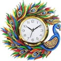 Wooden Printed Wall Clock, Size: 13 Inch