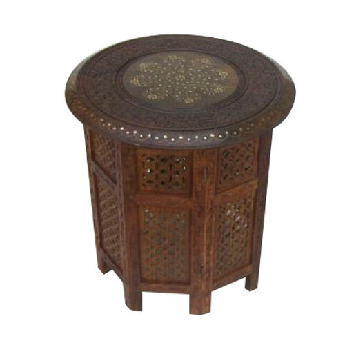 Wooden Moroccan Table