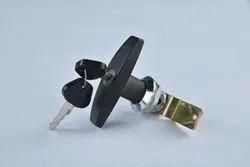 ABS Zinc Alloy T Handle Lock With Keys, Chrome