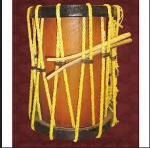 Chenda Drum Kerala Traditional Musical Instrument