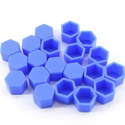 Blue Plastic Protection Caps