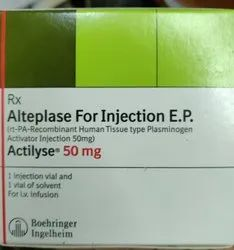 Actilyse Alteplase For Injections E.P. 50mg