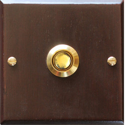 Antique Brass Flush Switch