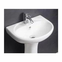 Hindware Cleo Half Pedestal Wash Basin