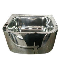 Chrome Railway SS Wash Basin