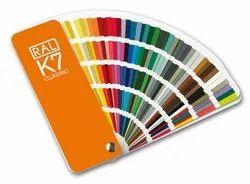 RAL K7 Classic Shade Card