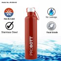 Probott Stainless Steel Double Wall Vacuum Flask Bang Water Bottle 900ml PB 900-03