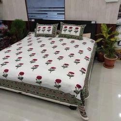 Red Rose Printed Bedding Set