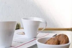MEHUL Microwave Safe Tea Cup (White)