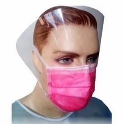 pink surgical face mask