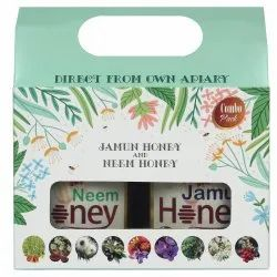 Combo Gift Pack of Jamun Honey & Neem Honey 500g each