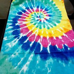 Attractive Cotton Abstract Colorful Towel, Size: 75 cm x 140 cm