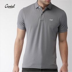 Spun Matty Collar T-shirt for Men (Spun Pique)