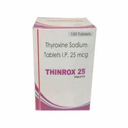 Thyroxine Sodium Tablets Ip 25 Mcg Packaging Type Box Rs 40