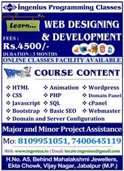 Web Designing And Development Training Classes Services - Ingenius