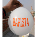 Barista Advertising Printed Balloon