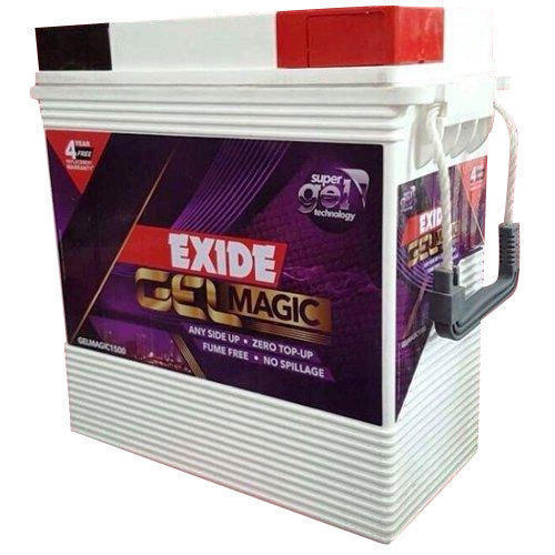 exide gel magic 150ah battery gel magic 1500 capacity. Black Bedroom Furniture Sets. Home Design Ideas
