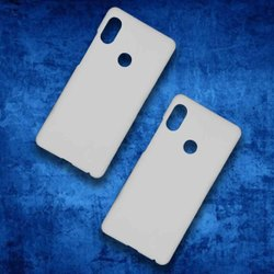 Polycarbonate White Redmi Note 5Pro 3D Sublimation Mobile Back Blank Cover