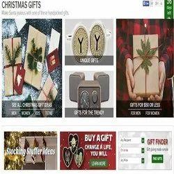 Online Gift Shop Website Design(E Commerce Website )