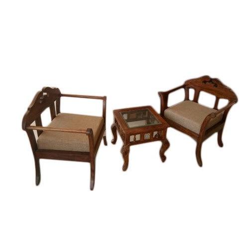 Wooden Tee Table Set Lakdi Ki Table लकड क म ज Kasba