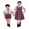 Summer Cotton Kids School Uniform, Packaging Type: Packet