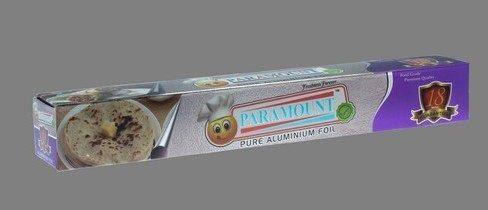 Paramount High Quality Aluminium Foil Roll 18mtr